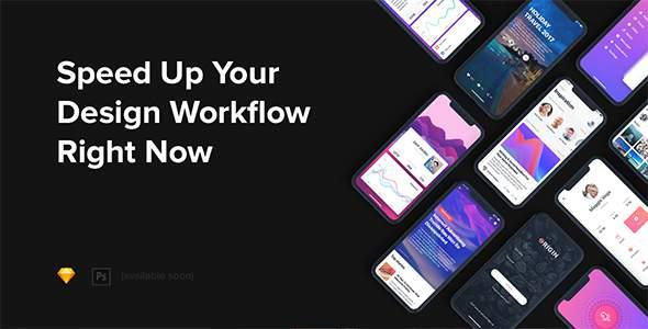 Origin Mobile UI Kit for IphoneX            TFx Lee Tyron