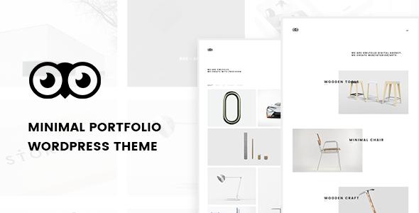 Owlfolio - Personal Portfolio WordPress Theme            TFx Alf Marion
