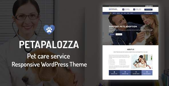 Petapalozza – Pet Care Service WordPress Theme            TFx Lyall Dana