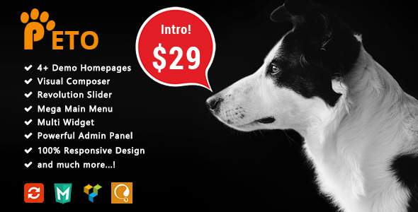 Peto - Responsive WooCommerce WordPress Theme for Pets and Vets            TFx Coty Luther
