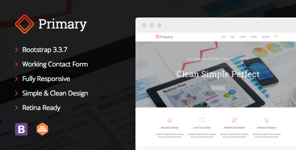 Primary – Business Joomla Template            TFx Timour Reynold