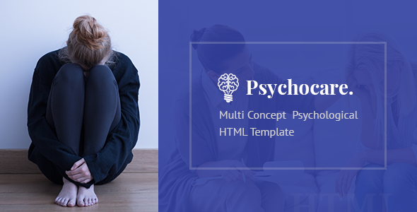 Psychocare – Psychology & Counseling HTML Template            TFx Jepson Aaren