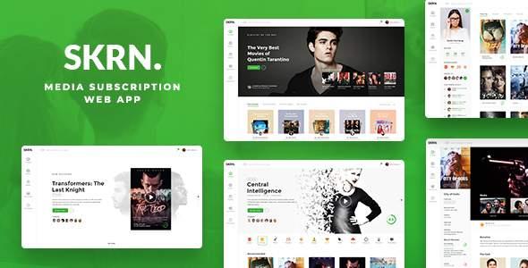 SKRN - Media Streaming App            TFx Taylor Palmer