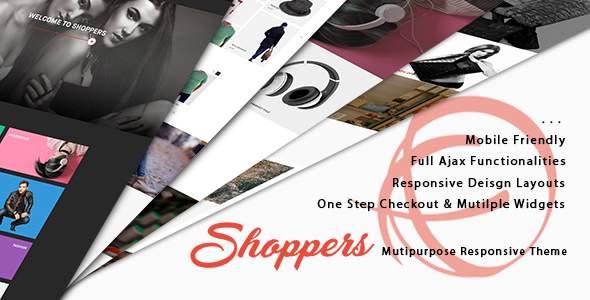 Shoppers - Creative Premium Magento 1 Theme            TFx Sheldon Taufik