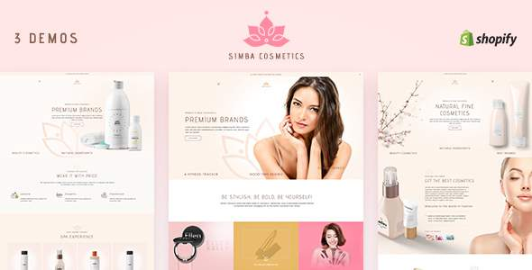Simba - Sectioned Shopify Cosmetics Theme            TFx Wat Wystan