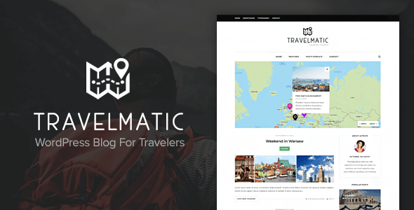 Travelmatic – Travel Blog WordPress Theme            TFx Nanook Justin