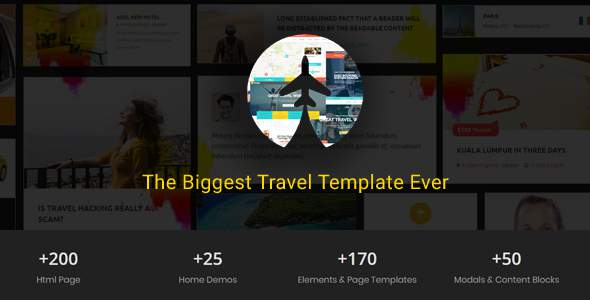 Travelz - Travel, Tour Booking ,  Hotel , Mega  HTML5 Template            TFx Chile Harding