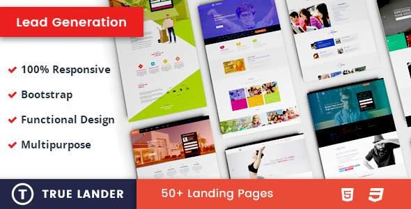 TrueLander - Lead Generation Landing Pages            TFx Reid Forest