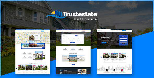 Trustestate - Real Estate PSD Template            TFx Zane Wilton