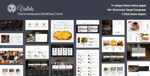 Valleta - Food & Restaurants WordPress Theme            TFx Sullivan Barney