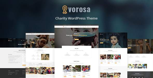 Vorosa - Charity Fundraising WordPress Theme            TFx Parp Gene
