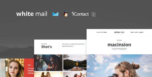 White Mail – Responsive E-mail Template + Online Access            TFx Haruki Nerses