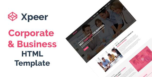 Xpeer - Corporate and Business One Page HTML Template            TFx Carlisle Shin