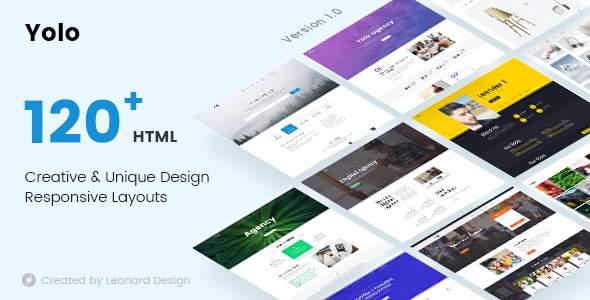 Yolo | Responsive Multi-Purpose HTML Template            TFx Amir Tristram