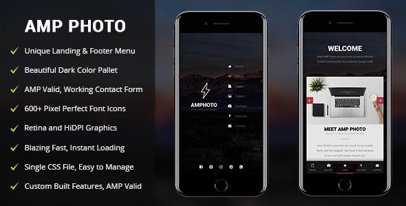 AMP Photo | Mobile Google AMP Template            TFx Sahak Ronald