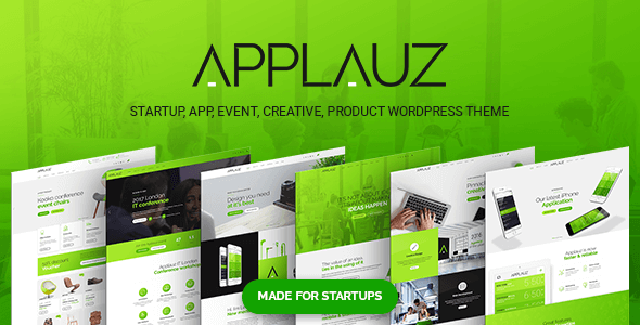 Applauz - Startup WordPress Theme            TFx Aditya Conway
