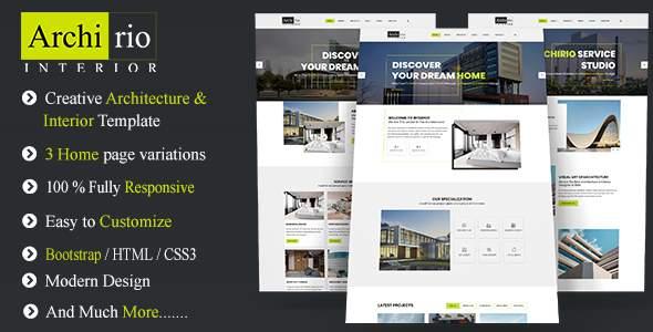 Archirio Interior HTML Template            TFx Hamilcar Corbin