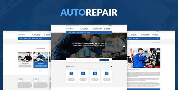 AutoRepair – Car Mechanic – HTML5 Template            TFx Will Denis