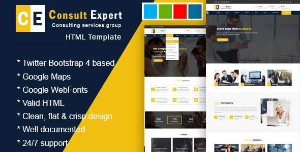 Consult Experts - Business Consulting and Professional Services HTML Template            TFx Kemp Berny