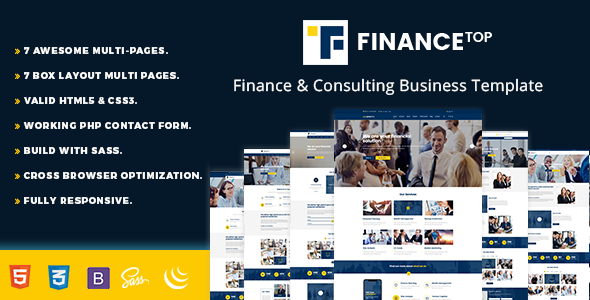 Consulting Finance Business - Finance Top            TFx Kichiro Lonny
