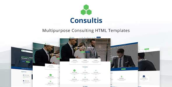Consultis - Finance & Consulting Template            TFx London Kaede