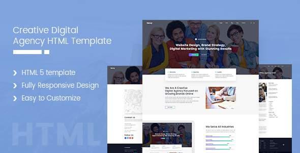 Creative-Agency HTML Business Template            TFx Phoenix Malakai