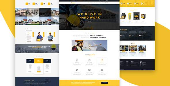 Crescent – Construction HTML Template            TFx Coty Shannon