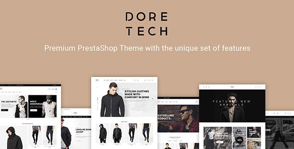 DoreTech – PrestaShop Theme            TFx Oswald Rafferty