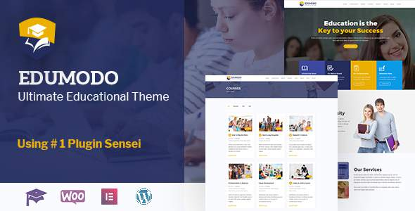 Edumodo - All-In-One LMS & Education Theme For WordPress            TFx Cecil Truman