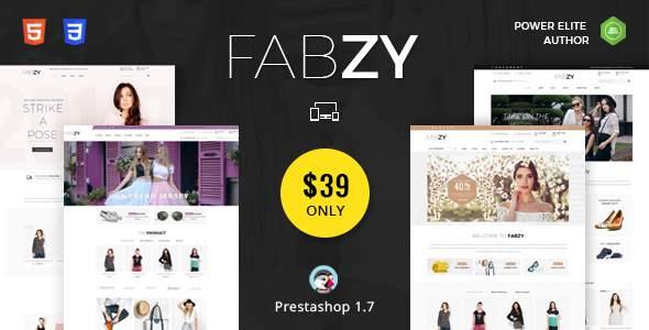 Fabzy - Responsive Prestashop 1.7 Theme            TFx James Hokolesqua