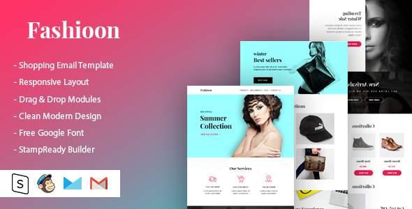 Fashioon – Shopping Email Template            TFx Sargon Davis
