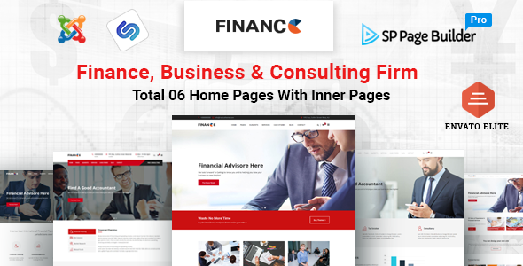 Finance – Finance, Business & Consulting  Joomla Template            TFx Ali Connie
