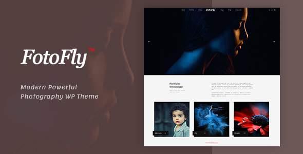 Fotofly - Photography WordPress Theme            TFx Arlo Bernie