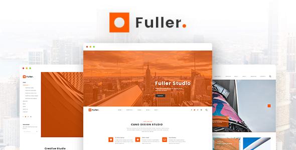 Fuller - Creative Portfolio, Resume & Agency WordPress Theme            TFx Knox Ansel