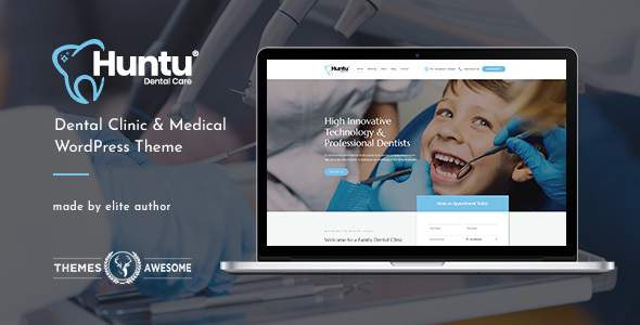 Huntu | Dental Clinic & Medical WordPress Theme            TFx Confucius Coleman