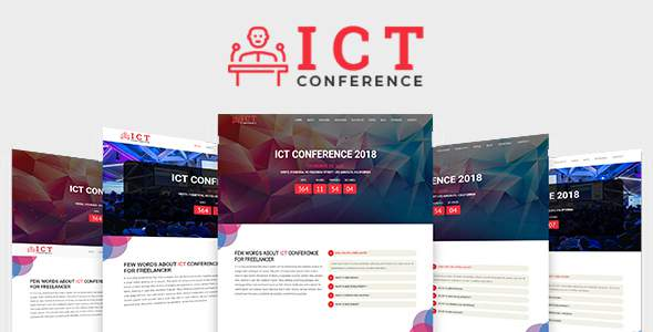 ICT - Conference HTML Template            TFx Gus Malachi