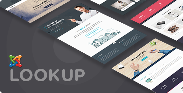LookUp - Responsive Multi-Purpose Joomla Theme With Page Builder            TFx Takara Robbie