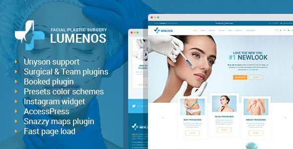 Lumenos - Plastic Surgery Clinic WordPress Theme            TFx Matt Fox