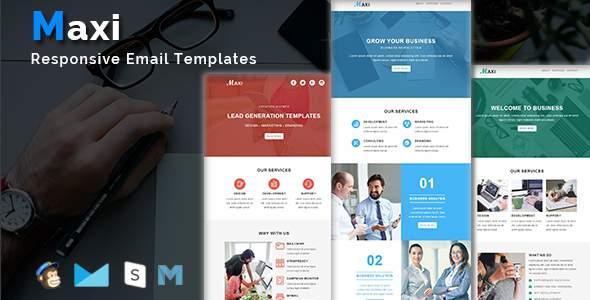 Maxi – Multipurpose Responsive Email Templates            TFx Reagan Kazuo
