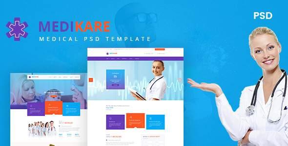 Medikare- Health & Medical PSD Template            TFx Willard Topher
