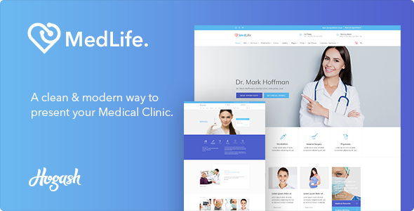 Medlife - Medical HTML template            TFx Bernie Rastus