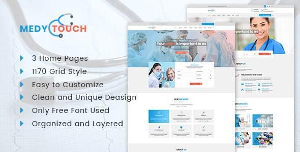 MedyTouch Medical PSD Template            TFx Elliott Eldred