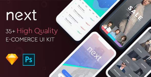 Next Ecommerce - UI Kit            TFx Bart Ocean