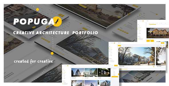 Popuga - Creative Responsive Architecture Portfolio WordPress Theme            TFx Don Braidy