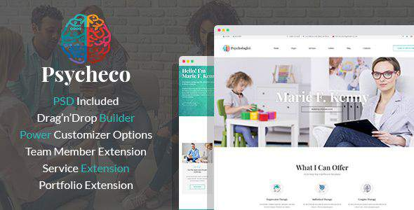 PsycheCo – Therapy & Counseling WordPress Theme            TFx Sequoyah Marshall