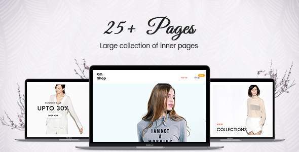QCShop - ECommerce HTML Template            TFx Selby Brook