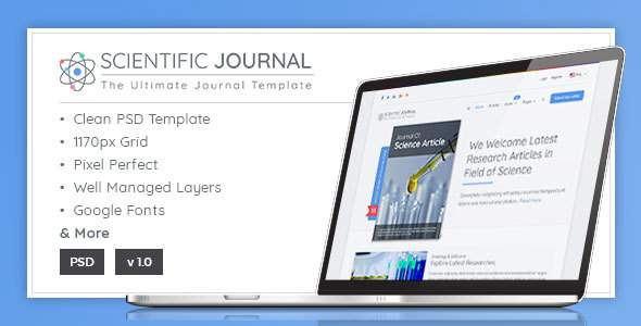 Research and Science – Scientific Journal Template            TFx Hewie Moses