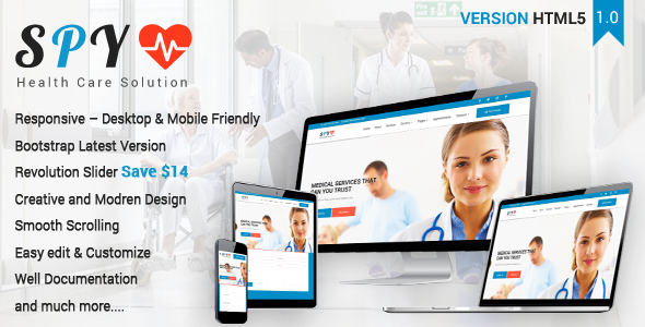 SPY – Medical & Health Care Solution Template            TFx Charley Aaron