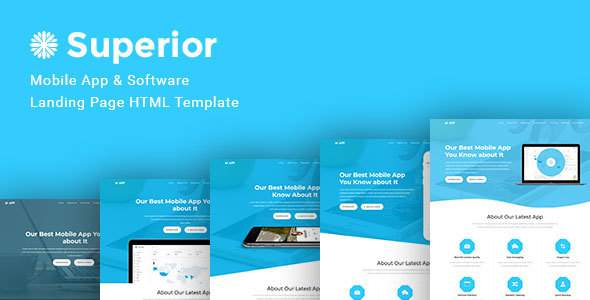 Superior App -- Superior App Multiple Landing Pages            TFx Harve Evan