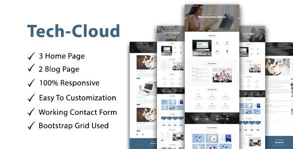 Tech-Cloud One Page Multipurpose/parallax            TFx Laz Philip